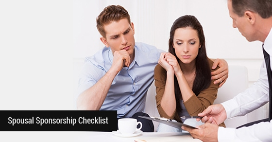 Spousal Sponsorship Checklist