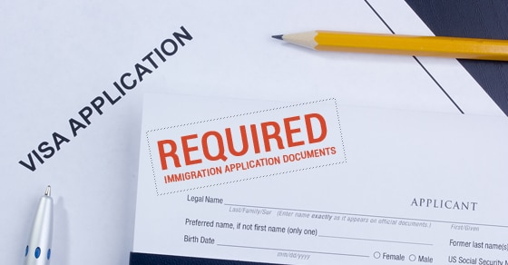 Canadian Immigration Application Documents